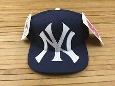 Vintage New York Yankees American Needle Snapback Hat Cap Big Logo 3D Image