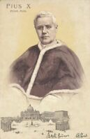 Pope Pius X 1903 Postcard (Pope from 1903-1914) - udb