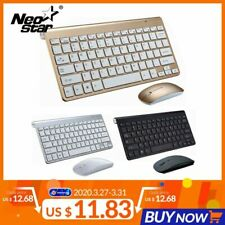 Ultra Slim 2.4G Wireless Keyboard Portable Mouse Mini Set Keyboard for IOS Andro