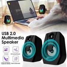 Smalody Loudspeaker Stereo Usb Powered Speakers for Pc Laptop Desktop Computer