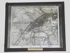 Ahrweiler, Landkarte, antikes Lichtbild Glasplatte ca. 1925 #E851