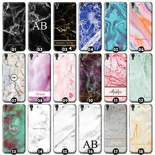 Personalised Marble Phone Case/Cover for Huawei Y Smartphone Initial/Name/Custom