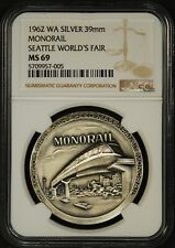 1962 WA NGC-69 Monorail  Seattle Worlds Fair.