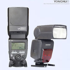 Yongnuo YN660 2.4G wireless Flash Speedlite for Nikon Canon Olympus Sony/560IV