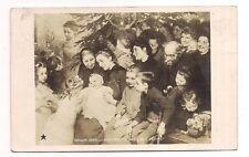 """salon 1908 , j.geoffroy  """"le noël des petits"""