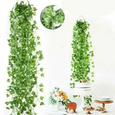 Artifical Hanging Fake Flowers Ivy Vine Garland Plant Wedding Home Decoration =R