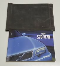 2000 VOLVO S70 V70 OWNERS MANUAL USER GUIDE V5 2.3L 2.4L GTMS GTAS GLT T5 BASE S