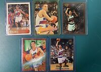 Steve Nash 96-97 Topps Finest Stadium Club Z Force Ultra RC ROOKIE Lot PSA BGS
