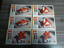 Two Sets of LEGO 60th Anniversary Limited Edition HOUSE, TRUCK & WINDMILL