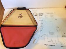 Melody Harp Instrument Case Music Song Sheets Pick Extra String