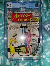 Action Comics 290 CGC 6.5 1962