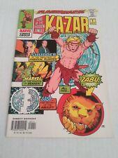Ka-Zar Lord of the hidden Jungle #1 (Jul 97 Marvel) July 1997