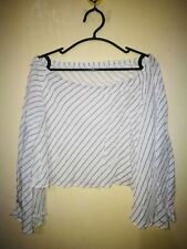 EGO OFF SHOULDER WIDE SLEEVE CROPPED TOP TAG SIZE F