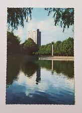 Vintage Postcard Sweden Malmo Slottsparken Park Rlc