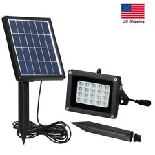 Solar Power Separate Panel 10W 20LED Security Wall Lights Outdoor Garden Lamp US