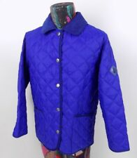 Marina Yachting Womens Blue Quilted Jacket Size 44 Made in Italy US 10