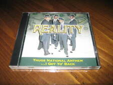 REALITY Thugs National Anthem I Got Yo Back Rap CD Hot Boy Nut Wild - West Coast