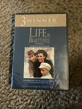 Life Is Beautiful (Dvd, 2005) Collector's Edit Roberto Benigni, N.Braschi New!