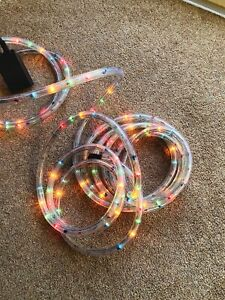 Multicolour Rope Light opened New 9 Metres