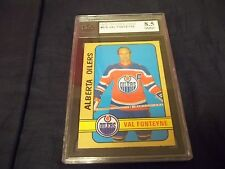 1972-73 OPC O-Pee-Chee WHA #319 Val Fonteyne Alberta Oilers - KSA 8.5 NMM+