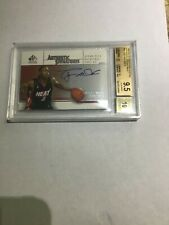 2003-04 SP Signature Edition Autographed Dwayne Wade  Rookie Graded 9.5 Gem MINT