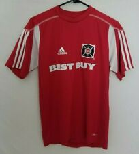 Adidas Chicago Fire Jersey Shirt 2009 Mens XS Climalite Best Buy Red MLS Soccer