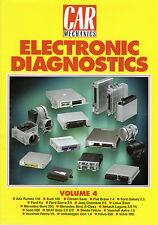 Car Mechanics Electronic Diagnostics Reprint Books Volume 4