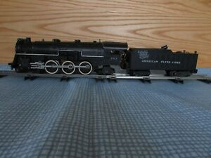 """American Flyer """"Meteor"""" Passenger Set with 4-6-2 Pacific and 4 Passenger Cars"""