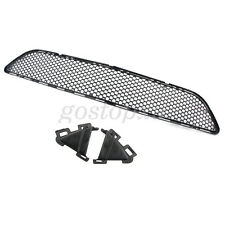 Front Black Bumper Center Mesh Grille Grill For MERCEDES C-Class W204 AMG 08-11