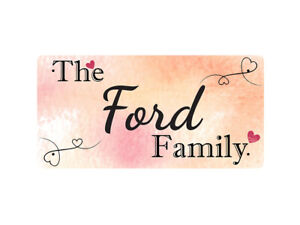 The Ford Family - Metal Sign