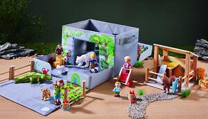 Haba Little Friends 305655 Aufbewahrungsbox  3 Tiere + Tierpfleger  Neuware