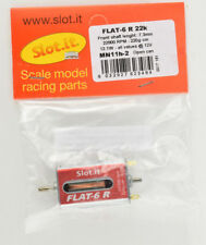 Slot it Flat-6 R 22,000rpm 12.1W Open Can Upgraded 1/32 Slot Car Motor MH11H-2
