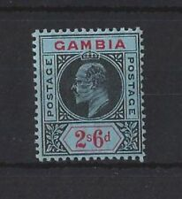 Edward VII (1902-1910) Mint Hinged Gambian Stamps (Pre-1965)