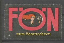 Fön Sèche-cheveux Publicité TIMBRE/LABEL (#5)
