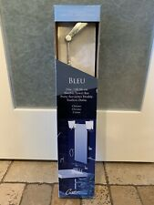 "Gatco Bleu 24"" Wall Mount Bathroom Double Towel Bar in Chrome #4714 BRAND NEW!"