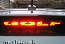 Adesivo Sticker Terzo Stop per VW Volkswagen Golf V 5 - Personalizzalo!