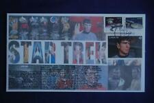 Star Trek Enterprise,Klingon Ship & Spock (85c) Stamps Fdc Bullfrog 09001 Sc#