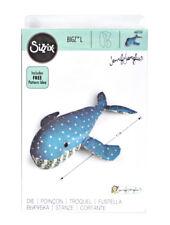 Sizzix Bigz L Whale Shaped Cutting Die 662237