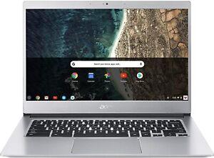 """Acer CB514-1H 14"""" Chromebook Laptop Pentium N4200 4GB 64GB ChromeOS NX.H1QEK.003"""