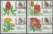 Timbres Flore Bulgarie 3720/3 o lot 4369