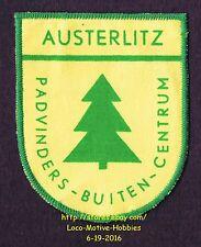 LMH PATCH Badge  AUSTERLITZ Boy Scouts Outdoor Center  PADVINDERS BUITEN CENTRUM