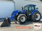 2019 NEW HOLLAND POWERSTAR 100 TRACTOR W/ LOADER, CAB, 540 PTO, HEAT AC, 807 HRS