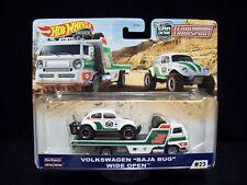Hot Wheels Car Culture Team Transport Volkswagen Baja Bug Wideopen.