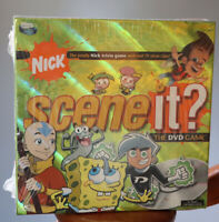 Sealed 2006 NICK SCENE IT? TRIVIA DVD BOARD GAME, NICKELODEON EDITION, COMPLETE