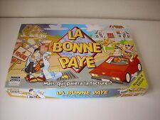 """(3) JEU DE SOCIETE """" LA BONNE PAYE """" PAR  PARKER COMPLET EN BOITE"""
