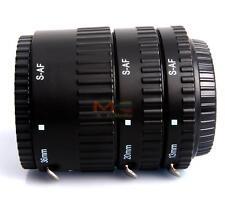 Meike MK-S-AF-B ABS Auto Focus AF Macro Extension Tube Set for Sony Camera