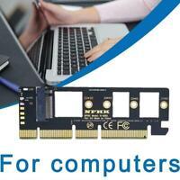 M.2 NVMe SSD to PCIE 3.0 X16/X8/X4 desktop state cards drive adapter N5N2