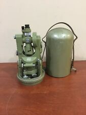 Wild Heerbrugg T1A Vintage Swiss Transit Engineers Theodolite w/ 2 Cases