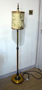 Vintage Brass Standard Floor Lamp