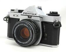 [ EXC PENTAX KX Cámara SLR Con / Smc PENTAX-M 50mm F/1.7 Bonus Lente De Japón
